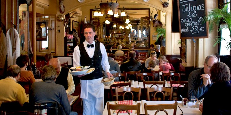 Bistros, Brasseries and Cafes