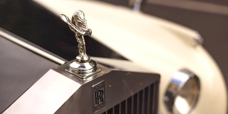 Vinage Rolls Royce, by Larry Davis
