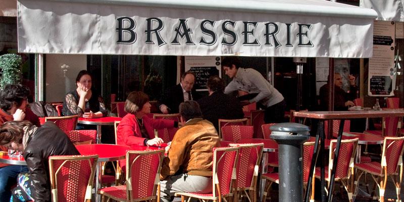 Cafe du Marche, photo by Mark Craft