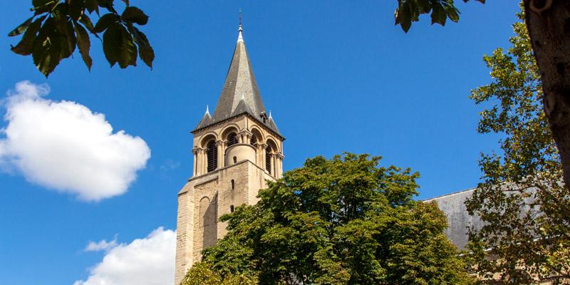 Eglise Saint-Germain-Des-Pres, photo by Mark Craft