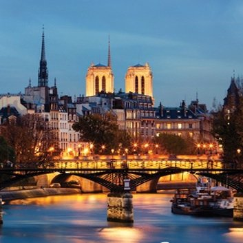 River Cruise + City Illuminations Tour + Dinner on the Eiffel Tower