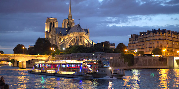 Seine River Nighttime Dinner Cruise