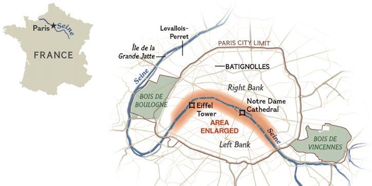 Seine River Fun Facts