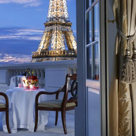 Star Hotels In Paris With View Of Eiffel Tower