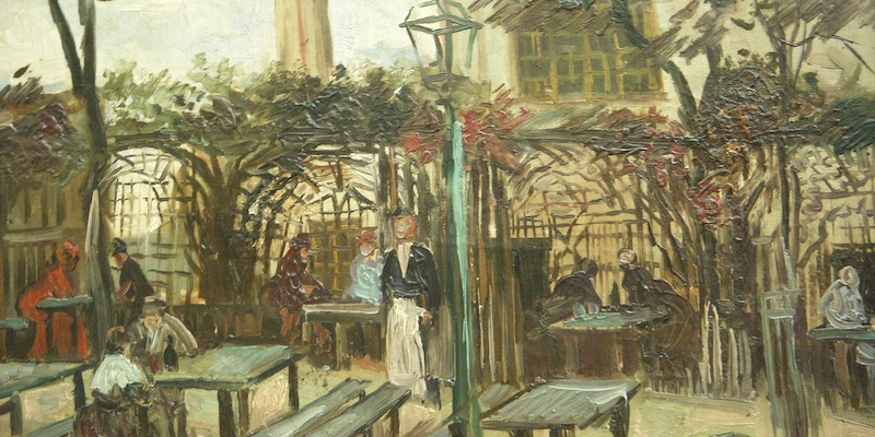 Van Gogh, Terrace of a Cafe on Montmartre