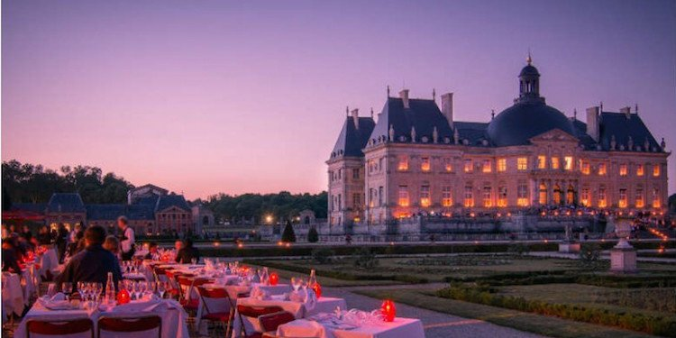 Candlelight Tour of Vaux le Vicomte