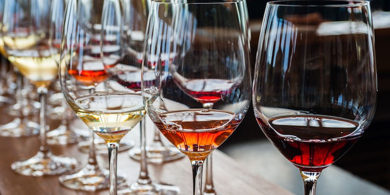 French Wine and Champagne Tasting