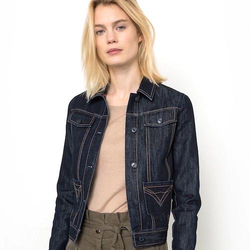 A Cropped Jean Jacket