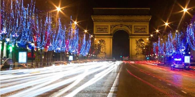 The New Year in the City of Lights
